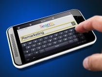 Remarketing in Search String on Smartphone.